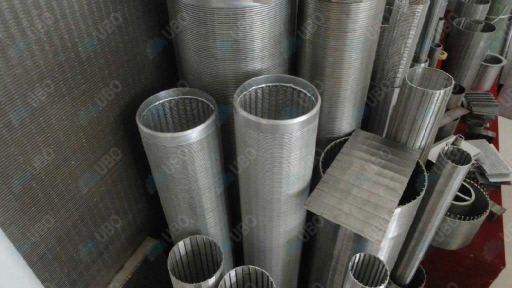 Introduction of the filter tube