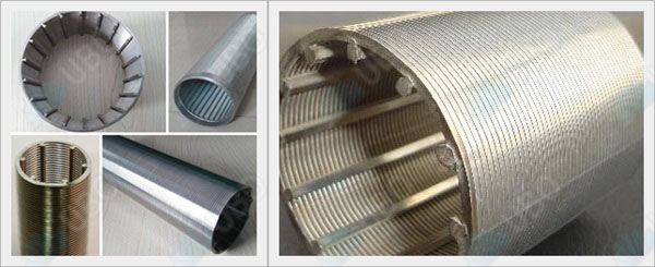 Stainless steel johnson water well screen cylinders