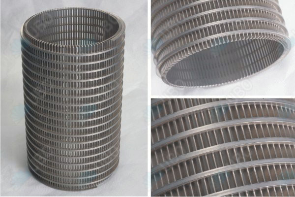 Johnson water filter screen pipe with wedge v wire screen
