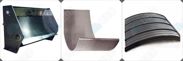 sieve bend screen panel