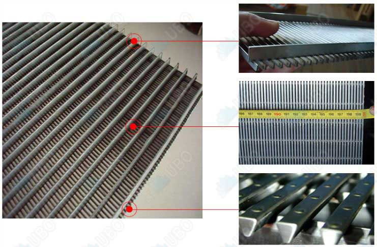 Wedge wire stainless steel mesh characteristics and application environment