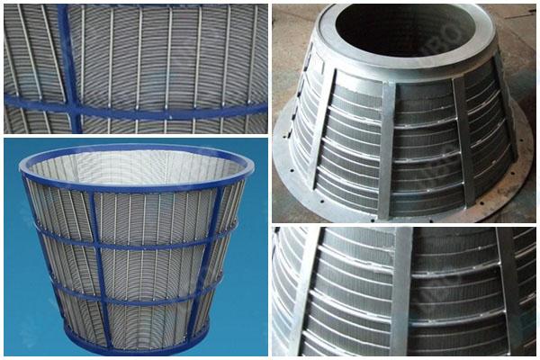 centrifuge sieve screen basket manufacture