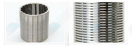 Stainless steel 304 wedge wire screen for resin trap