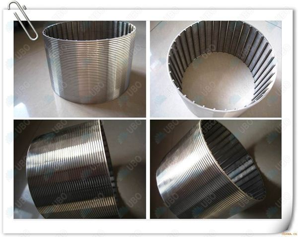 AISI 304 Johnson wedge wire filter strainer cylinder screen
