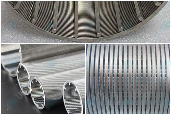 316L reverse rolled v wire water well screen