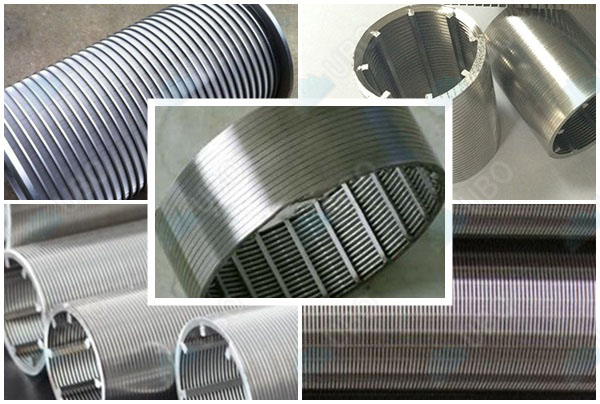 SS 304 V-shaped wire water well screen pipe