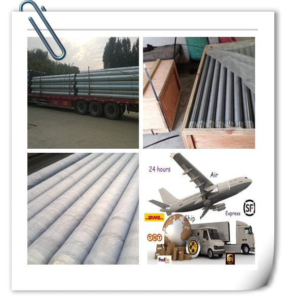 Welded stainless steel cylindrical wedge wire screens