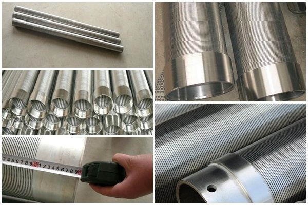 wedge wire filter elements for filtration