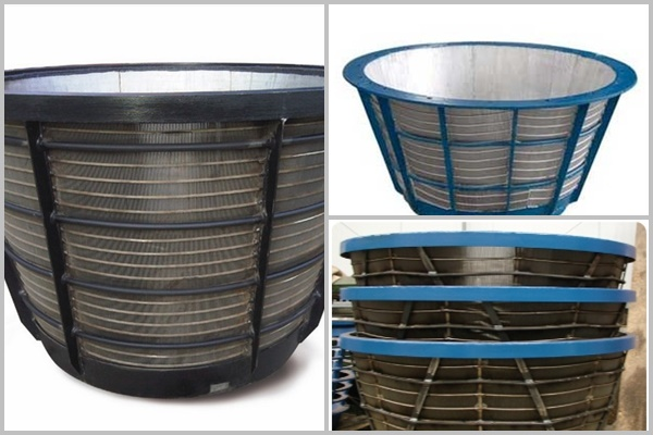 Cylinders & conical baskets