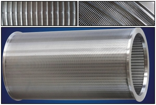 Stainless Steel Wedge Wire Filter Screw Press Screen