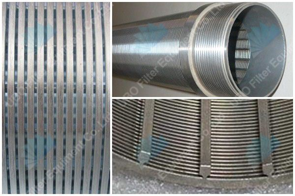 wedge wire water well screens suppliers