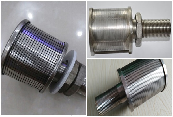 316 stainless steel wedge wire filter cap