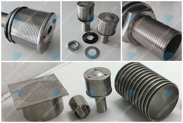 Customized Stainless Steel Water Treatment Water Filter Nozzles