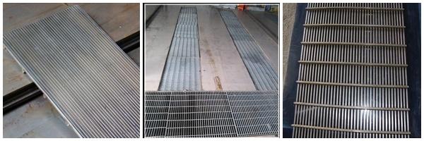 SS wedge wire sieve screen