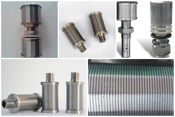 wedge wire screen nozzles