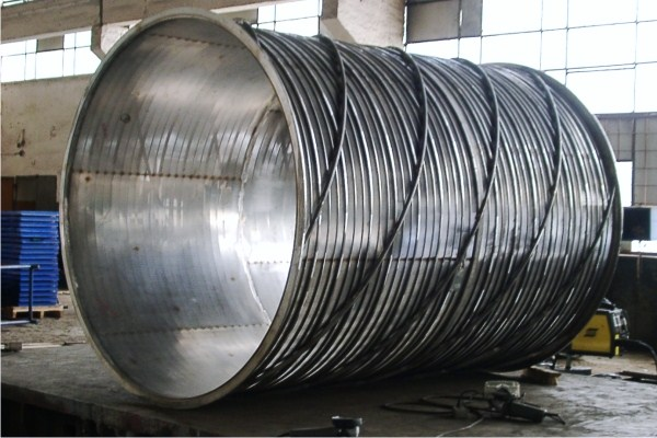 cylinder screen filtering elements used as Rotary drum Screens