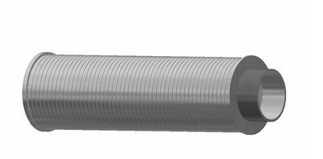 stainless steel strainer lateral nozzle pipe