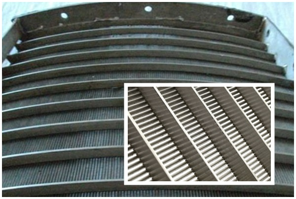 Stainless V Wire Screen Wedge Wire Screen Factory