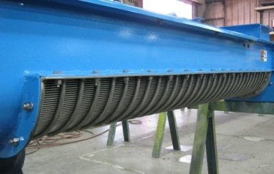 SS Industrial Rotary drum screen for wastewater treatment