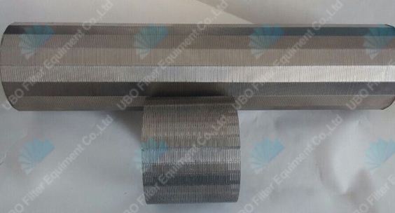 316L stainless steel wedge wire welded self-cleaning water filter