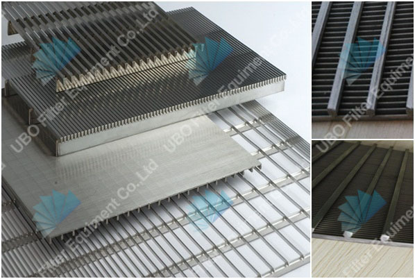 316 wedge wire screen panel for water filtration