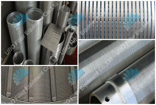Johnson screen tube for filtration