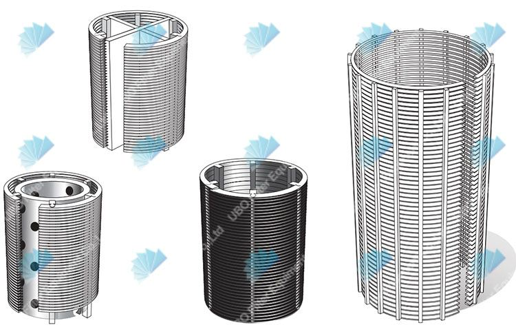 Hot Sale Johnson Wedge Wire Water Well Screen Filter Pipe For Sand Control
