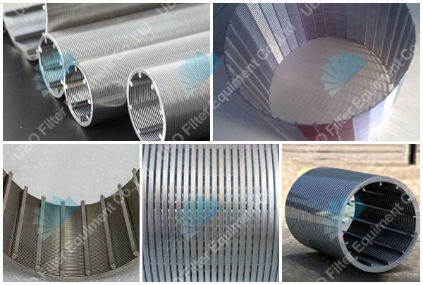 stainless steel metal wedge wire screen filter for filtration