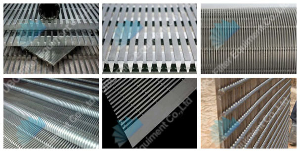 Stainless Steel Johnson screen panels wedge wire screen