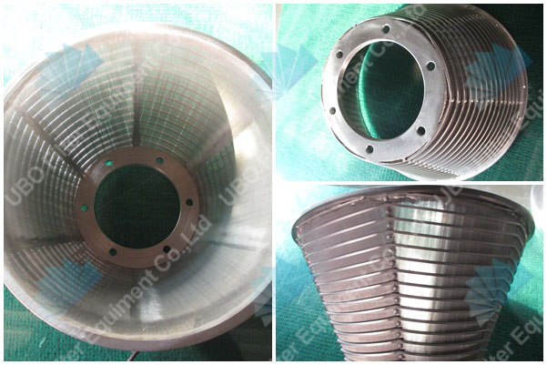 welded stainless steel wedge wire basket