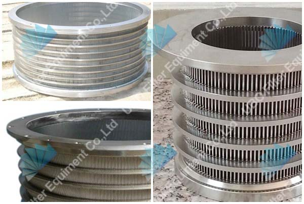 stainless steel wedge wire screen cylinder