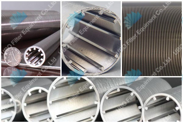 Stainless Steel Slot V Wire Water Well Screen tube