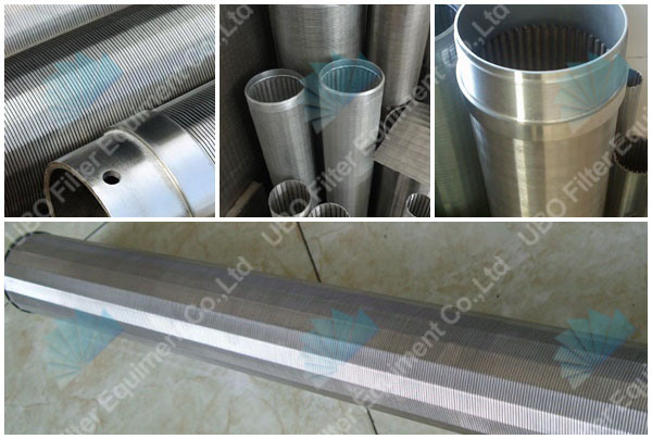 Low Carbon Steel water well screen pipes for filtration