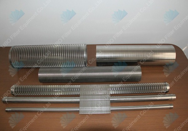 Jonson v-wire screen strainer pipe