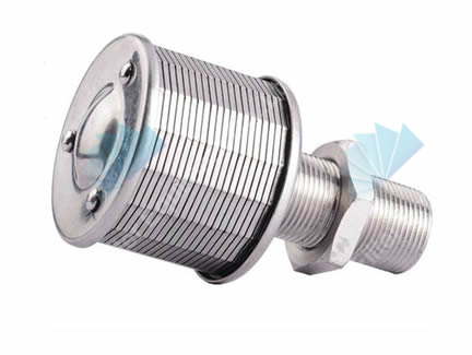 SS 304 wedge wire johnson screen filter nozzle