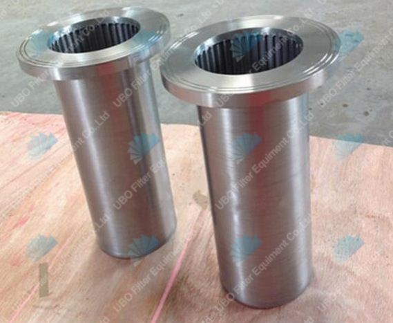 Stainless Steel Wedge Wire Resin Trap Strainer