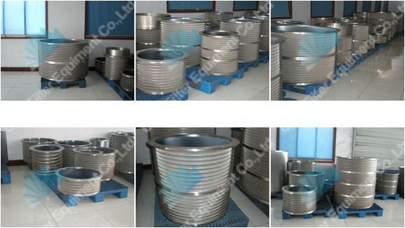 Wedge wire centrifuge basket