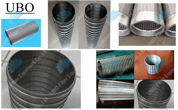 wedge wire slot pressure screen basket