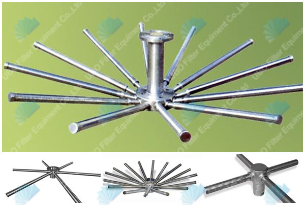 wedge wire screen header lateral for Drainage System
