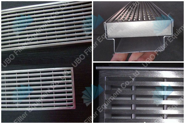 Swimming Pool Stainless Steel Wedge Wire Grate V Wire