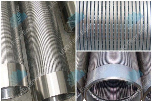 Stainless Steel Mesh Wedge Wrap Wire Water Well Johnson Screen Tube
