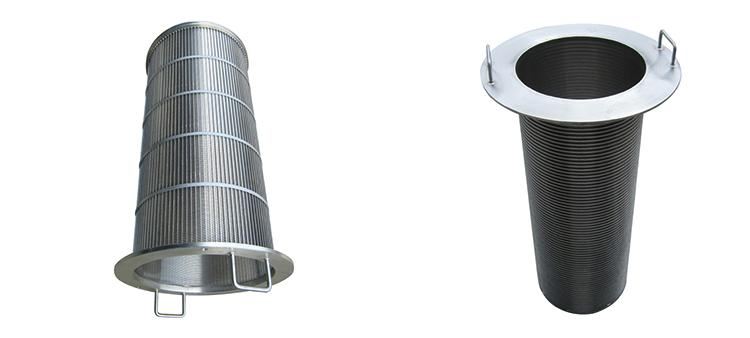 Johnson Type Wedge Wire Screen Cylinder Baskets for Wastewater Treatment