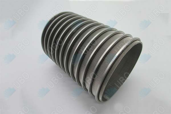 SS 304 Johnson <a href='http://www.ubowedgewire.com/' target='_blank'>wedge wire screen</a> basket cylinder