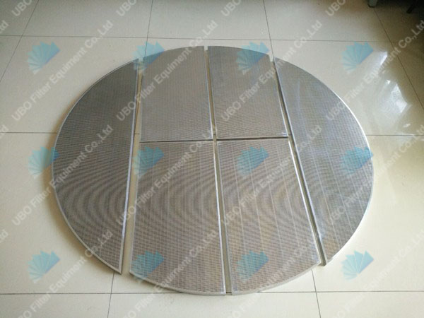 Johnson wedge wire lauter mash tun screen plate