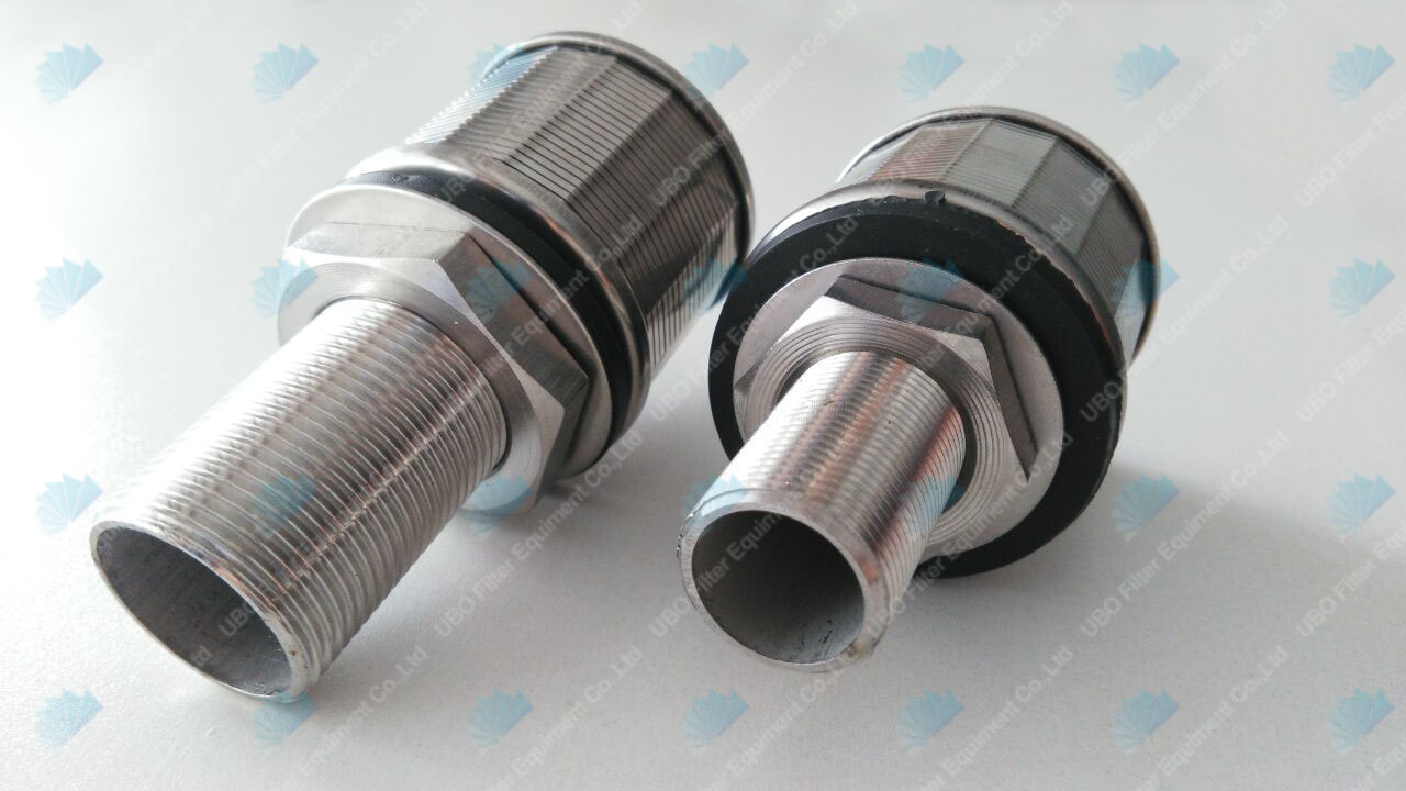 Stainless Steel High Pressure Filter Nozzles Wedge Wire Screen Strainer