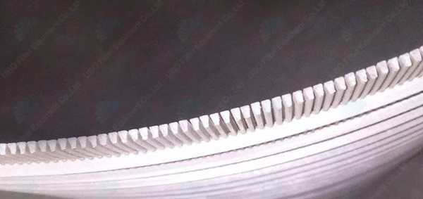 Wedge wire parabolic sieve bend screen curved panel