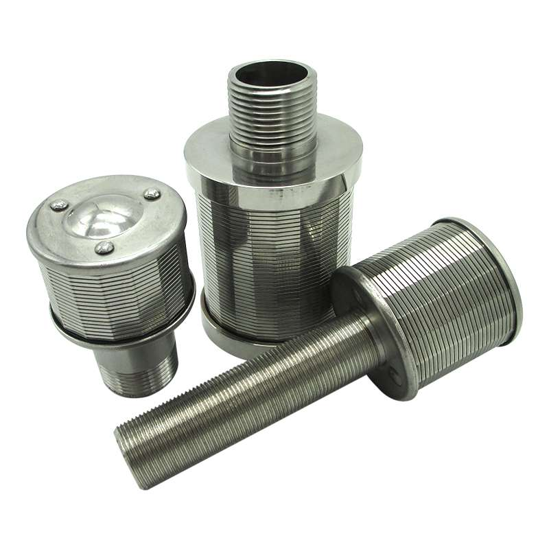 Ss wedge wire filter nozzle