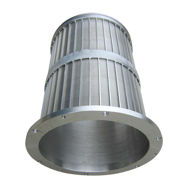 wedge wire screen filter cylinder