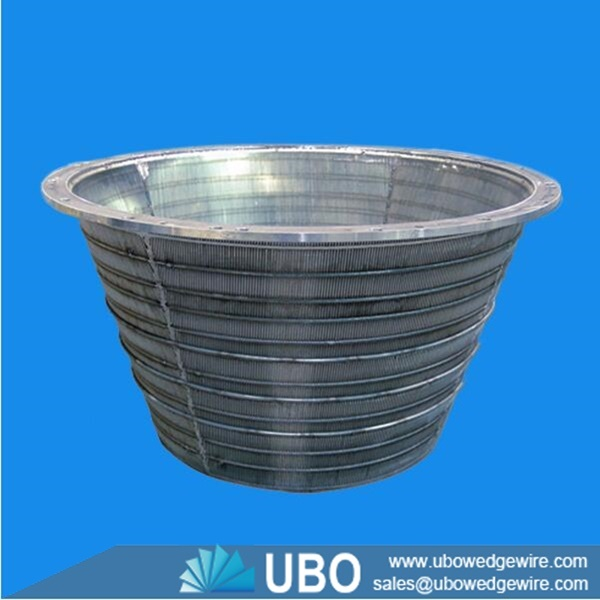 Stainless Steel Screens : Stainless steel wedge wire welding screen baskets