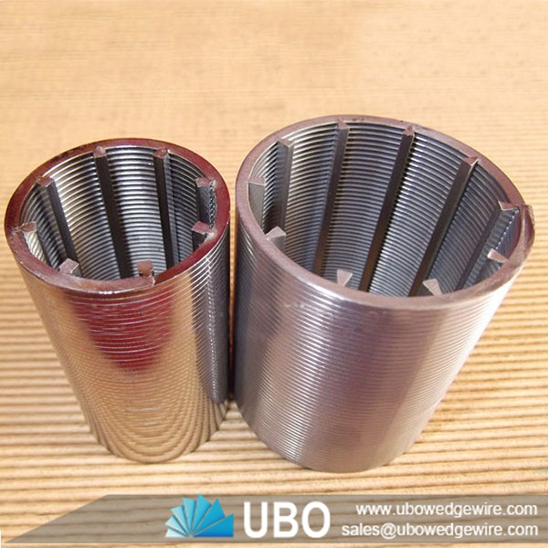 Johnson wedge wire water well screen filter pipe v shaped